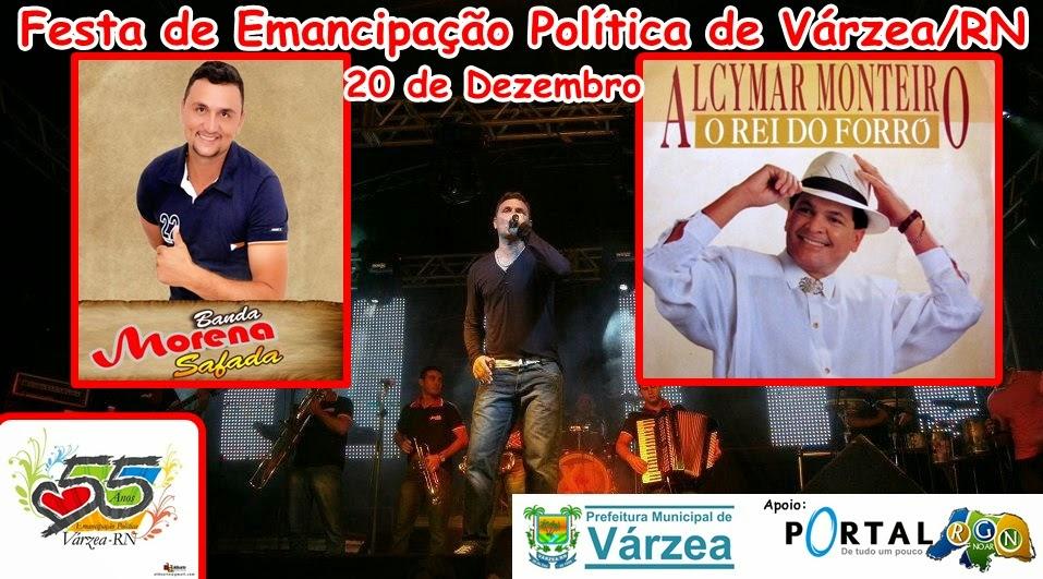 Banda Morena Safada e Alcymar Monteiro em Várzea/RN, 20 de Dezembro