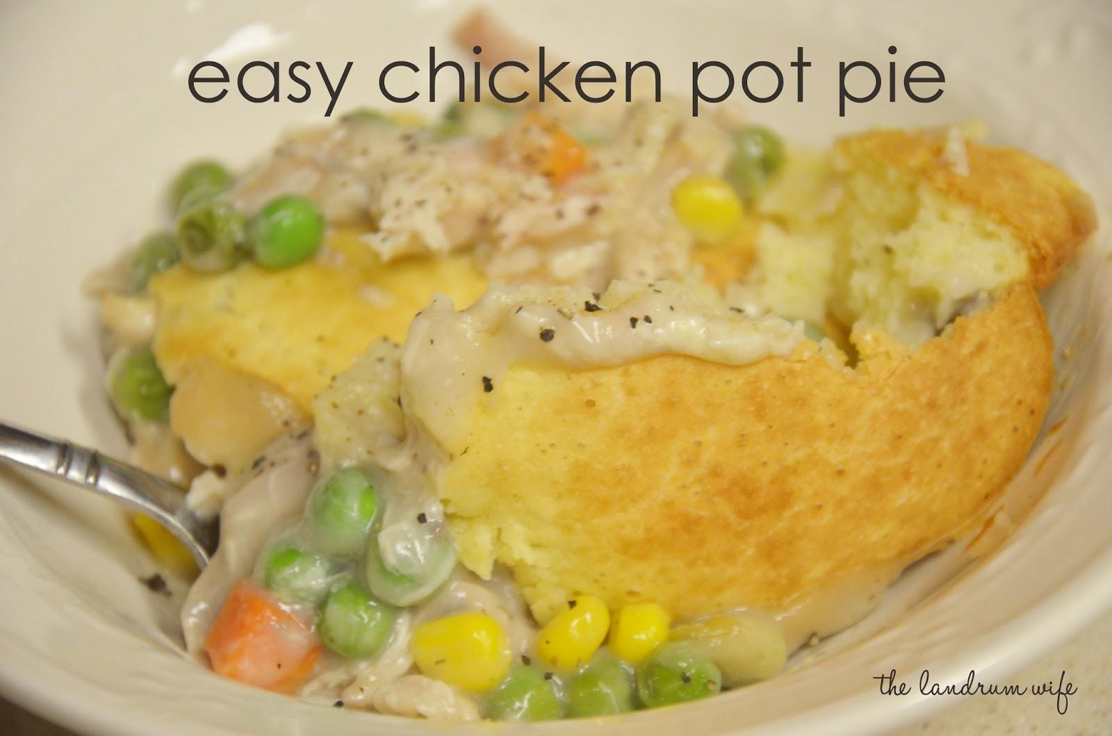 ... easy chicken pot pie how i m serving super easy chicken pot pie from