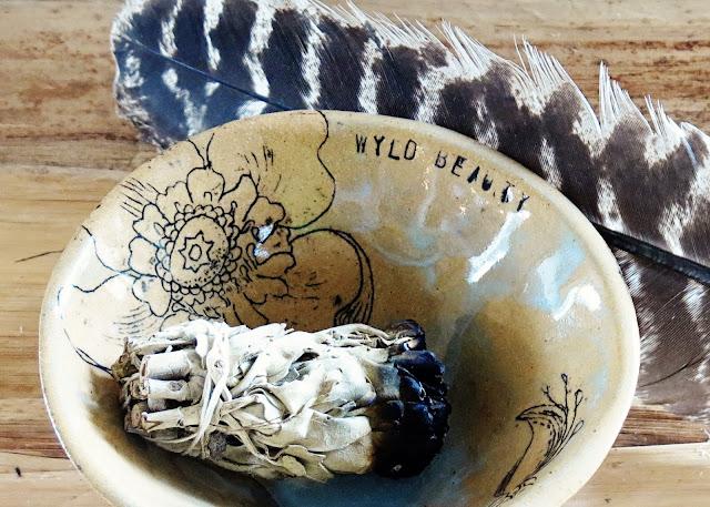 Blessing bowl by Galia Alena ceramics pottery sacred altar