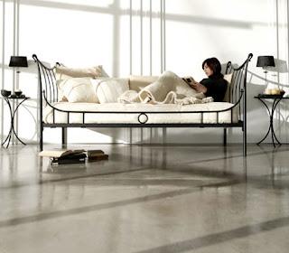 Muebles de forja camas div n en forja - Cama tipo divan ...