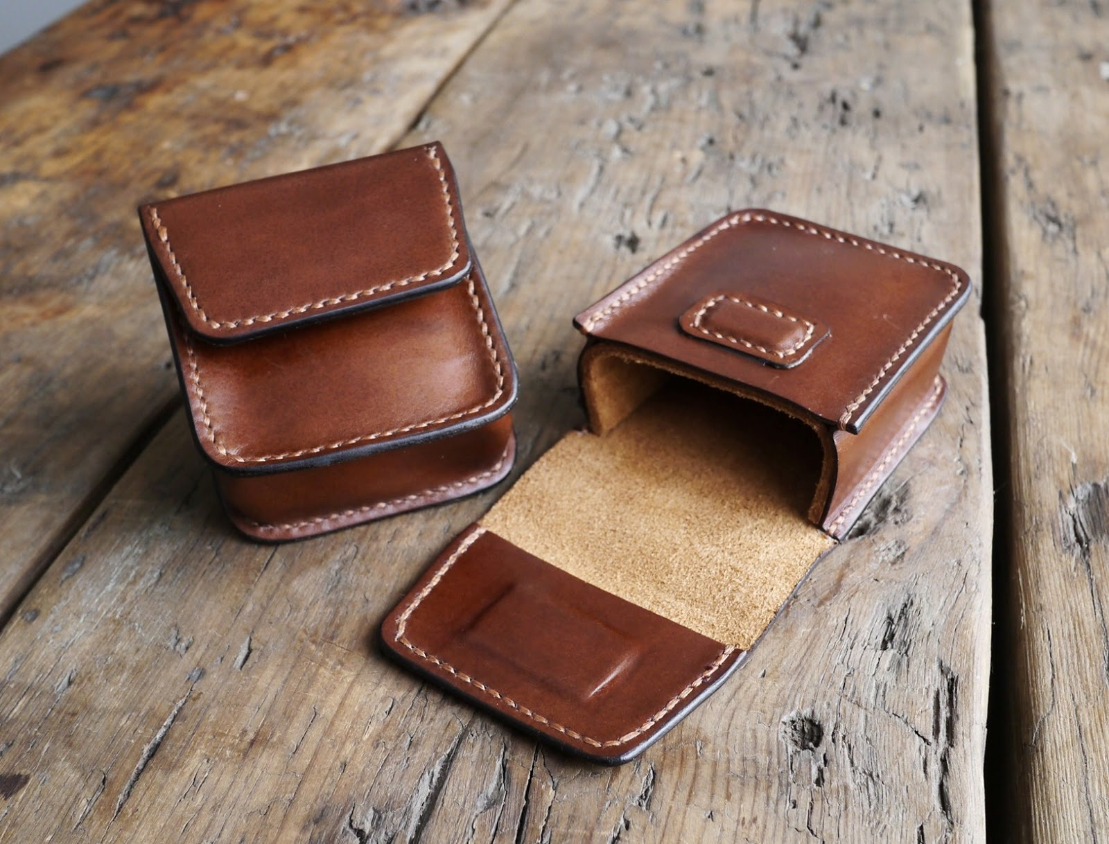 Ray Ban Brown Leather Case