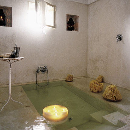 sunken tub yes please byzantine design. Black Bedroom Furniture Sets. Home Design Ideas
