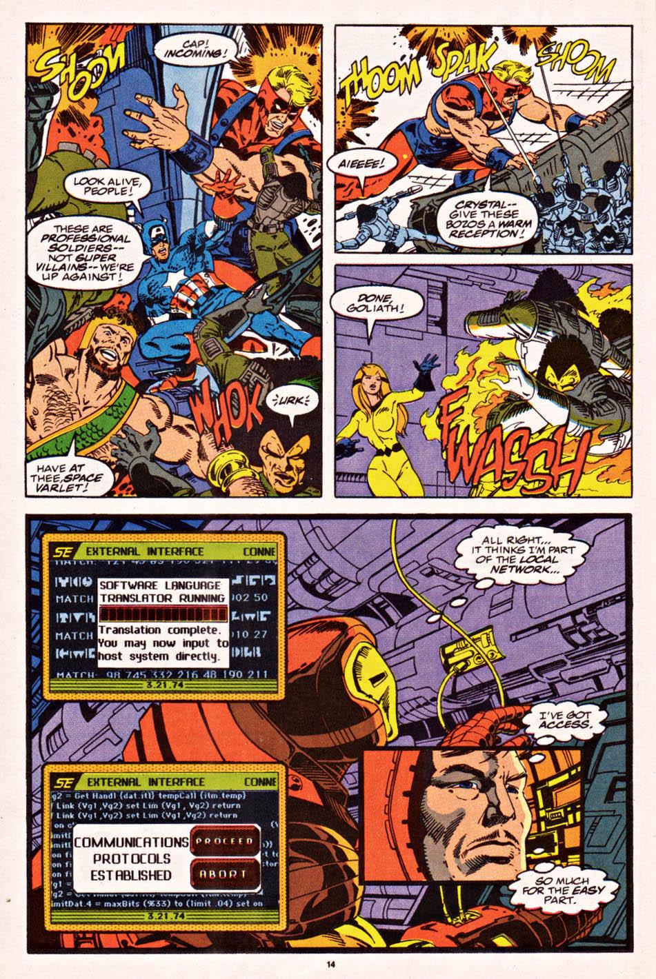 Captain America (1968) Issue #398f #336 - English 11