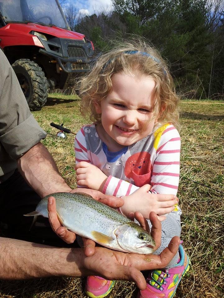 Caught first fish at Primland