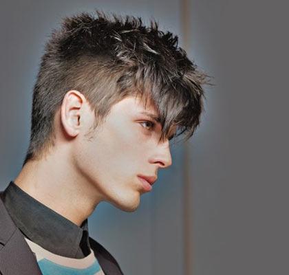 Peinados con flequillo para ellos Schwarzkopf - Peinados Hombre Flequillo