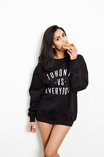 Toronto vs Everybody crewneck sweatshirt by Peace Collective