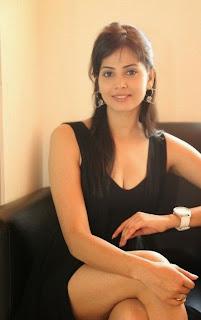 Actress Supriya Sailaja Latest Pictures in Black Dress at BIG FM 0082