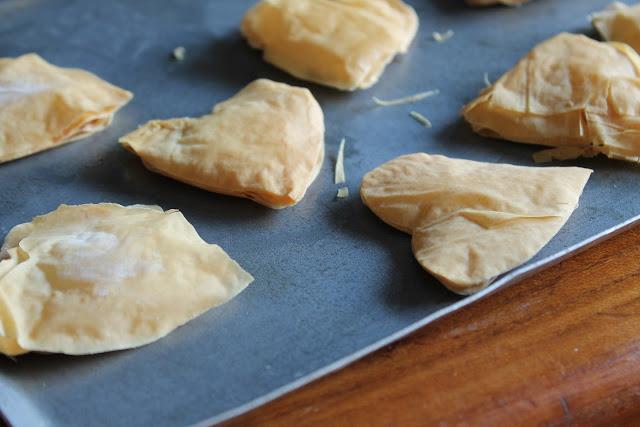 phyllo dough ideas