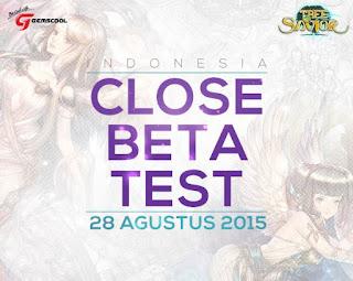 28 Agustus 2015, Game Baru Gemscool - Tree of Savior Indonesia Masuki Masa CBT