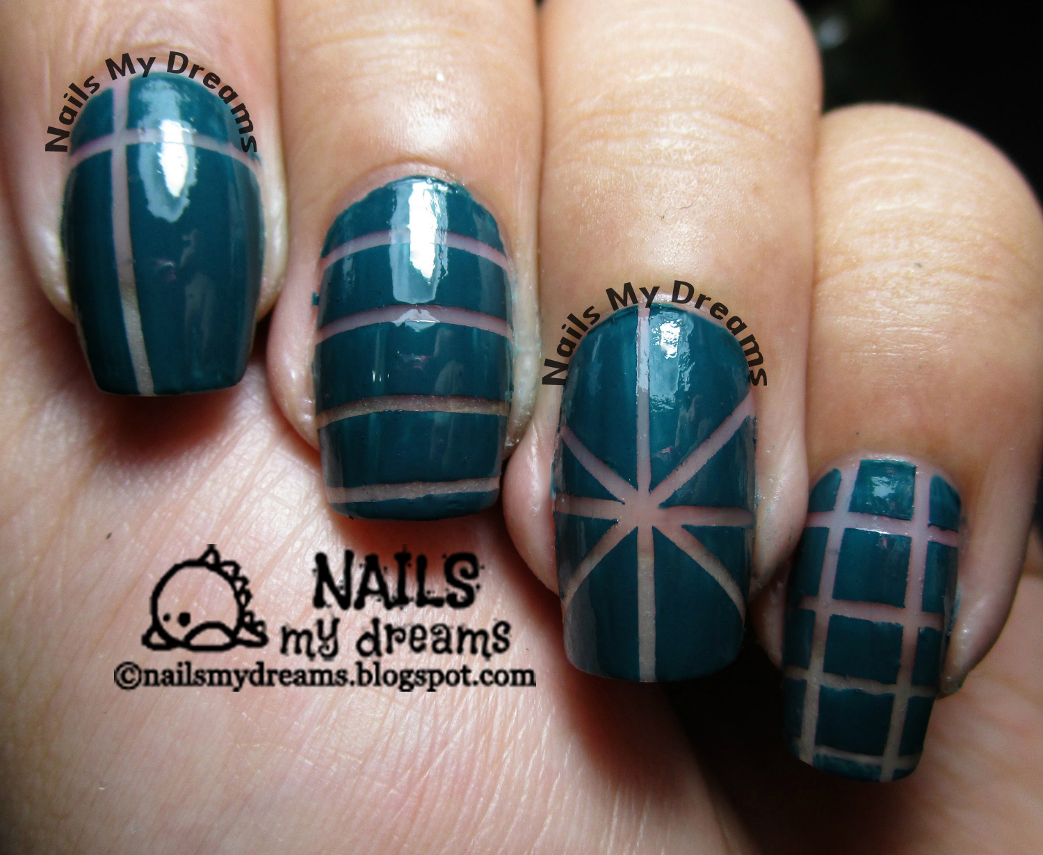 Nails My Dreams: Negative Space Nail Art!...