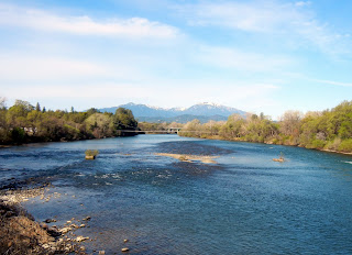 Sacramento River views in Redding