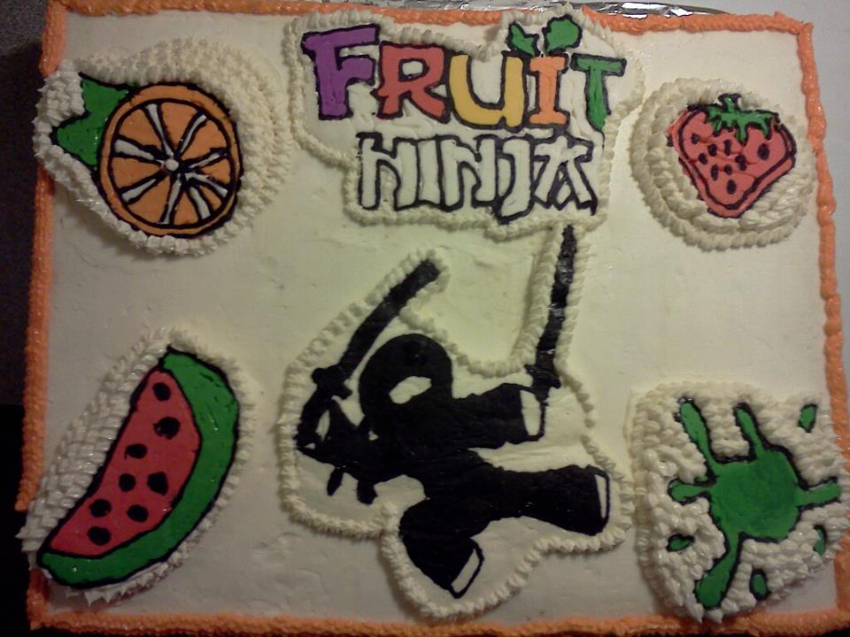 cakes by Greta: Fruit Ninja Cake ...