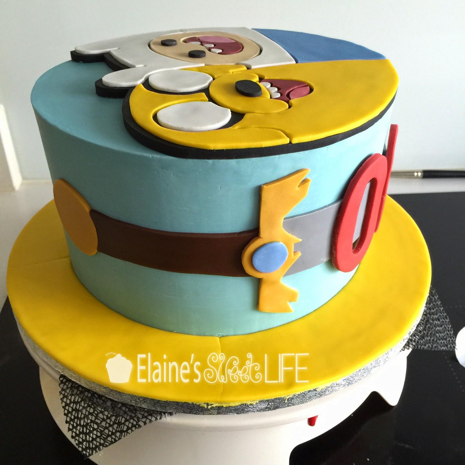 Elaine\'s Sweet Life: Adventure Time Cake