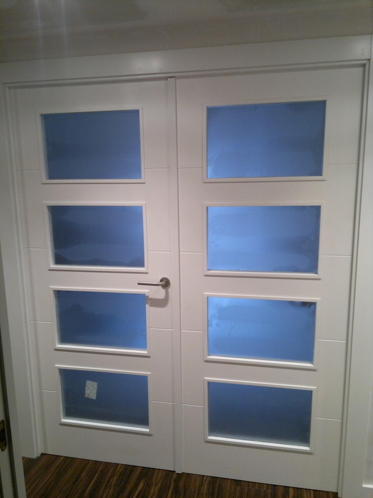 Ebanisteria carpinteria manuel perez zaragoza puertas - Puertas de paso lacadas en blanco ...