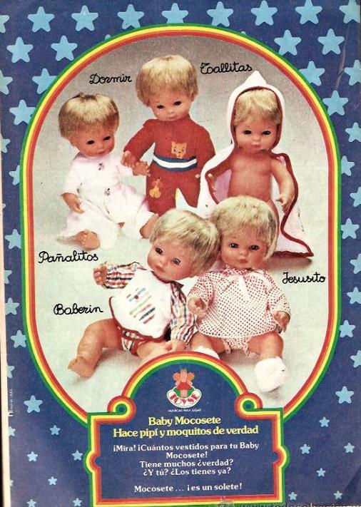Publicidad de Baby Mocosete