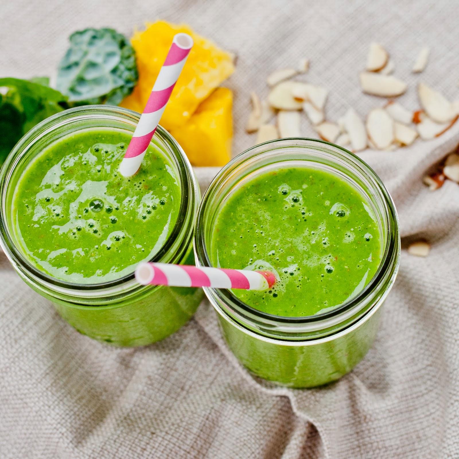 how to make green tea mango mantra
