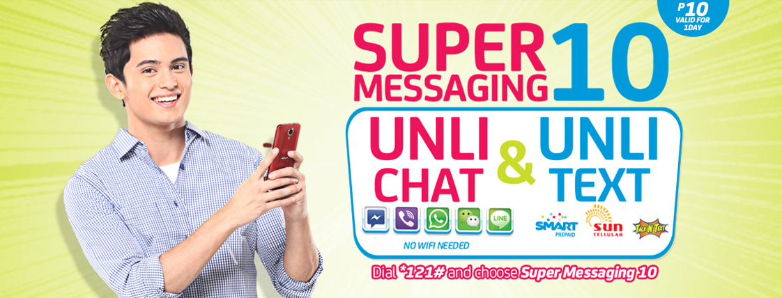 Super Messaging 10 from Smart Prepaid