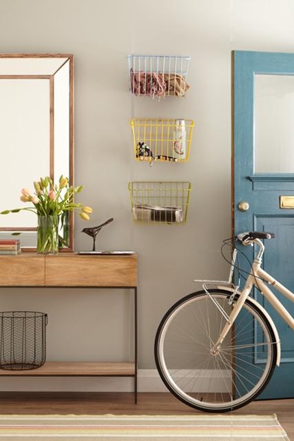 decoração com bicicleta