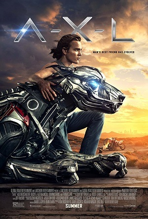A.X.L. - O Cão Robô Legendado Torrent Download   Full BluRay 720p 1080p