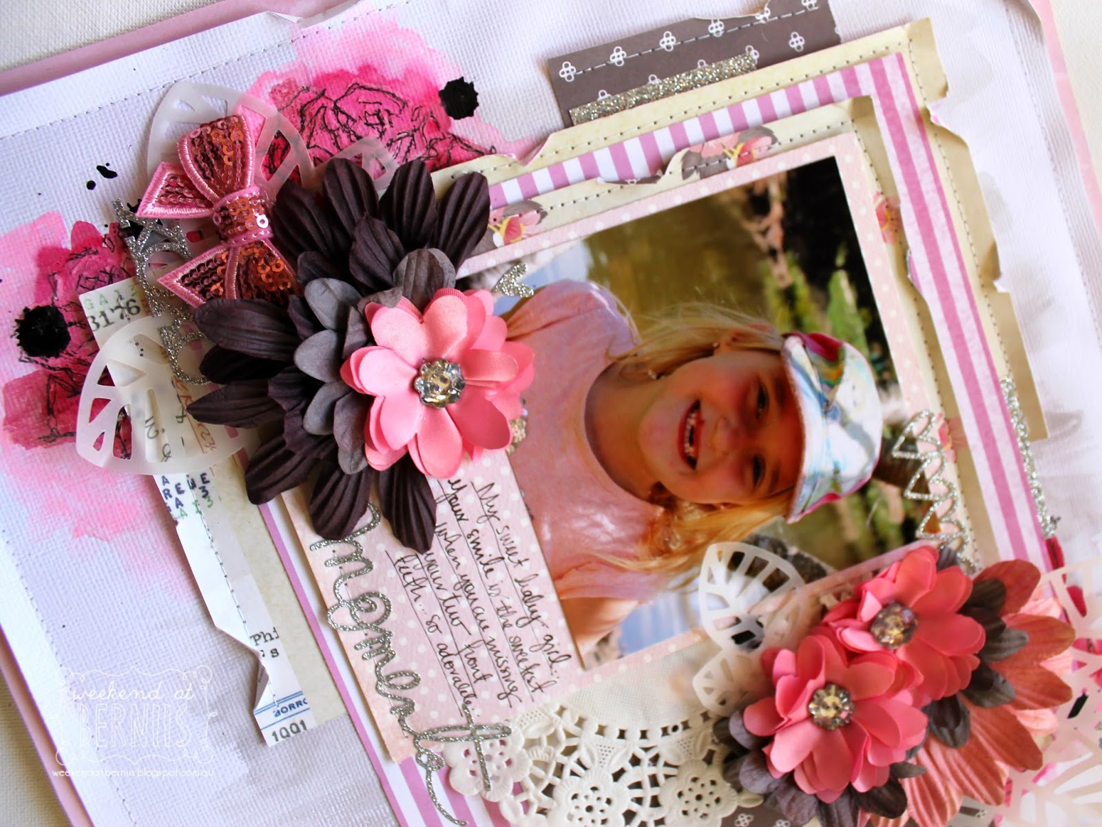 Moment layout by Bernii Miller