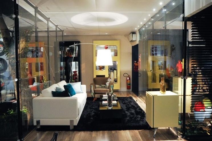 Sala De Tv Com Frigobar Retro ~ Frigobares invadem a decoração de quartos, salas e home offices
