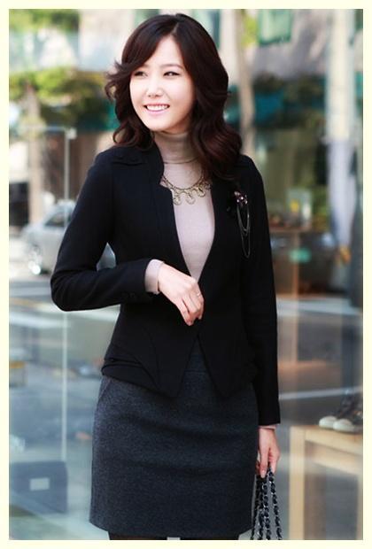 iModeli Baju iKerjai Blazer iWanitai Korea Beauty id