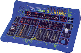 Elektronická stavebnice 75 v 1