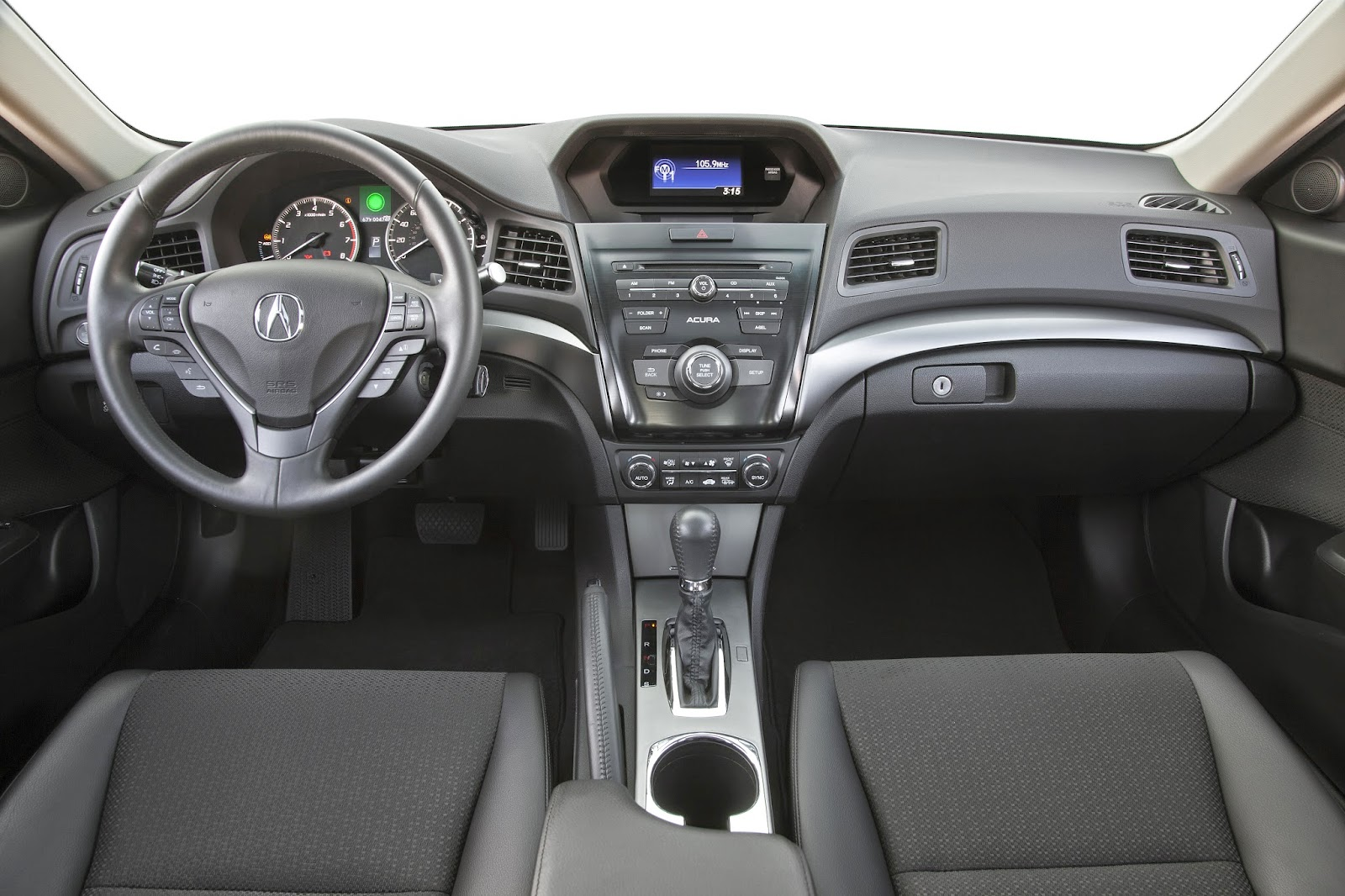 Interior view of 2014 Acura ILX Hybrid