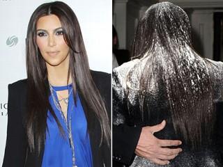 Kim Kardashian floured: Kim Kardashian suffered a stroke in flour!