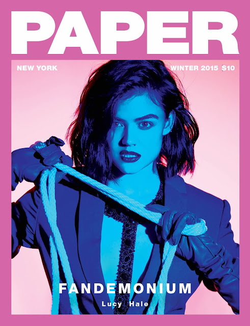 Actress, Singer, @ Lucy Hale - Paper magazine, Winter 2015
