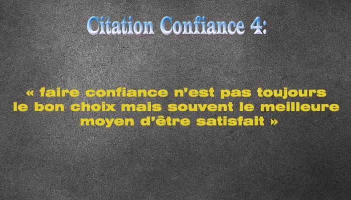 Confiance Citation