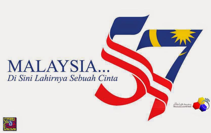 LAGU TEMA HARI KEMERDEKAAN KE 57 Malaysia Di Sini Lahirnya Sebuah Cinta versi kreatif