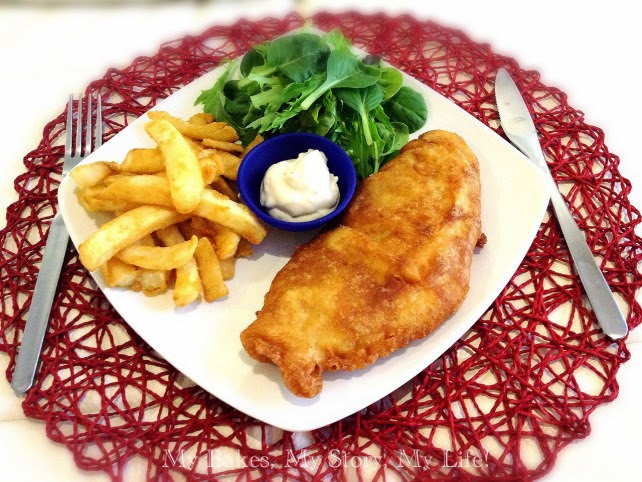 Crispy english style fish and chips by roxana ng for Best fish and chips nyc