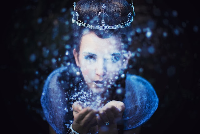 alexandra belova polyak, photo session birmingham, snow queen makeup, galina thomas