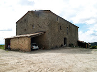 La façana de ponent d'El Mas de L'Espunyola