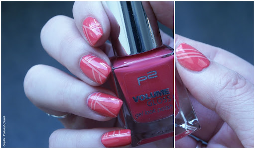 Easy Striping Tape Nail Art with p2 happy bride and p2 funky babe