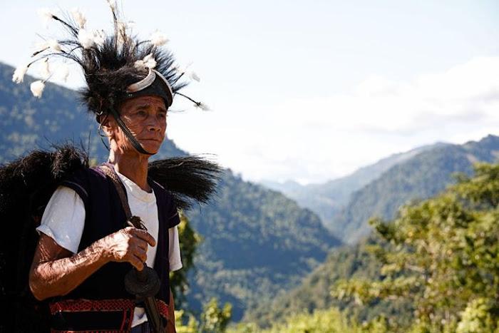 Adi Minyong man, Arunachal Pradesh - Johan Gerrits photography