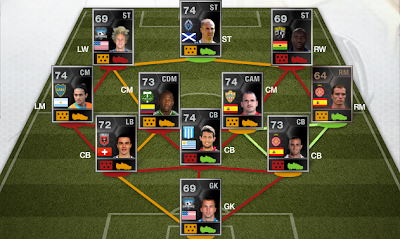 FUT 13 TOTW 40 (Team of the Week) - FIFA 13 Ultimate Team