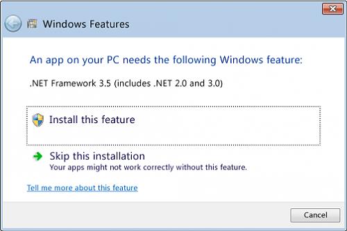 CompuGenesis: Enable .NET Framework 3.5 on Windows 8 ...