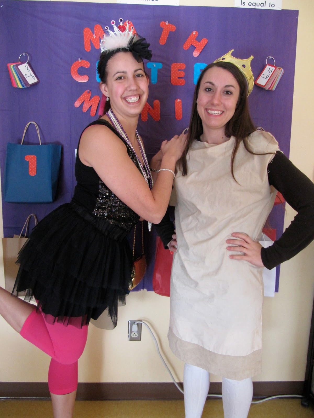 Stilettos and birkenstocks in second grade how to look like fancy our friend in first grade joined the dress up fun as the paper bag princess solutioingenieria Gallery