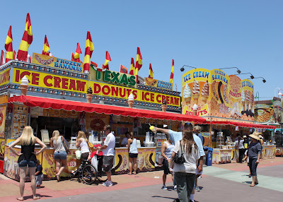 Texas Ice cream and donuts