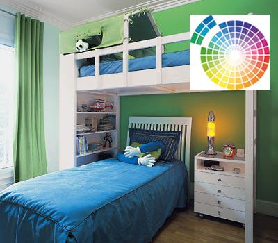 Ernesto arag n pintura para el hogar como combinar los for Como combinar colores para una habitacion