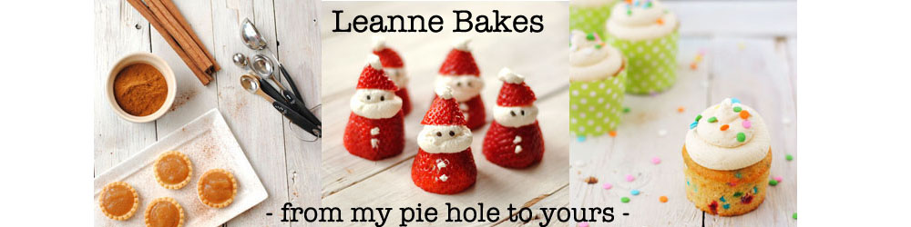 Leanne bakes
