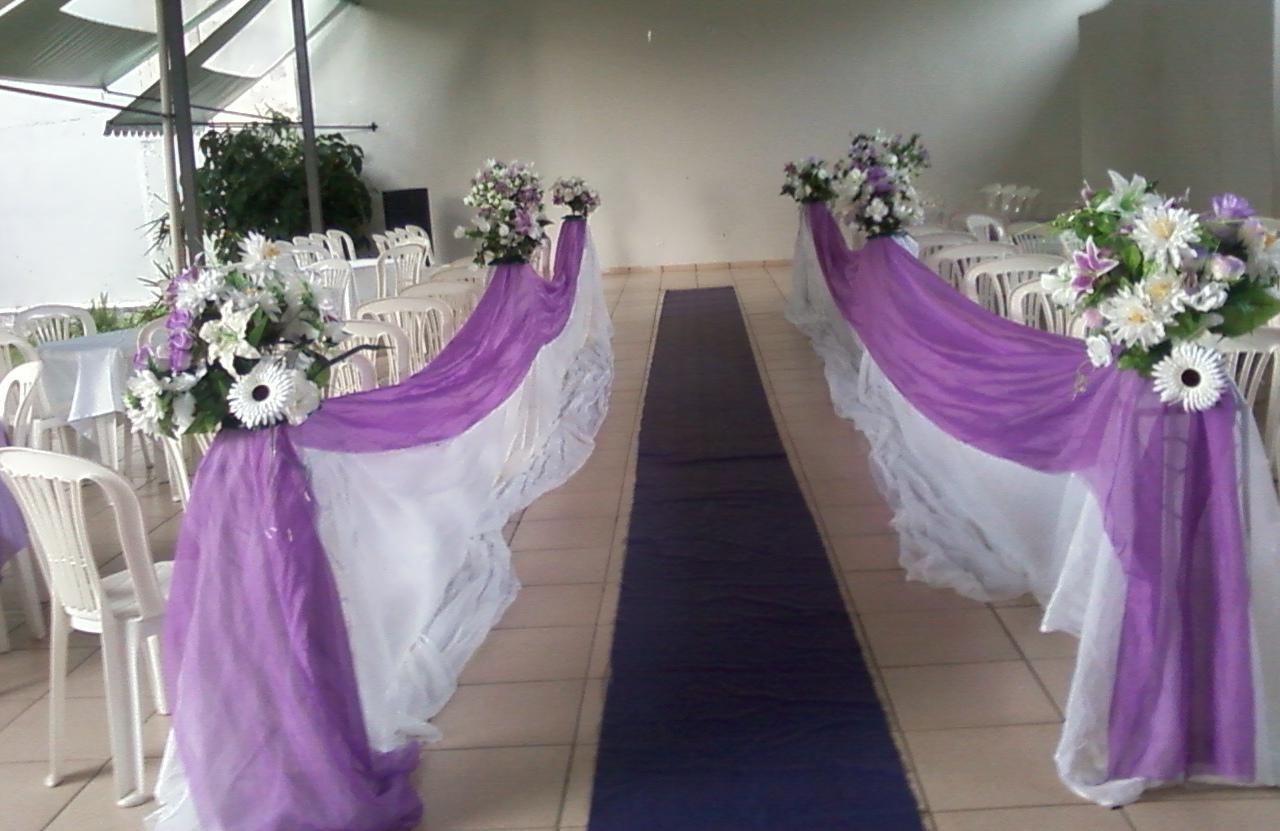 Casamento Foi Realizado No Dia 29 De Dezembro De 2012.~ Decoracao Branco E Lilas Para Casamento