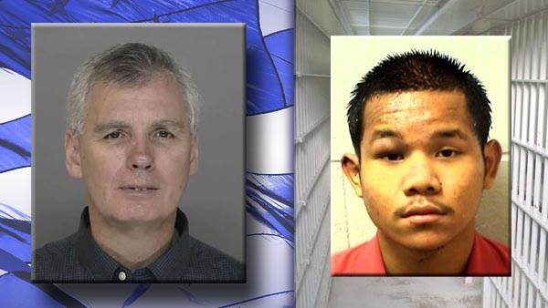 Murdered Clayton County Sheriff's Deputy, Rick Day, and his confessed killer ...