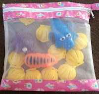 bambino toy bags, mesh toy bags, eco friendly storage bags, kids toy storage