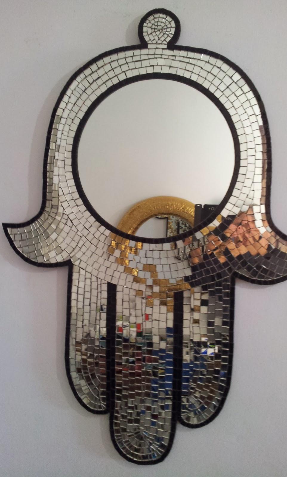 Mozaliza claude feghali mosaiste miroirs mosaique for Miroir mosaique
