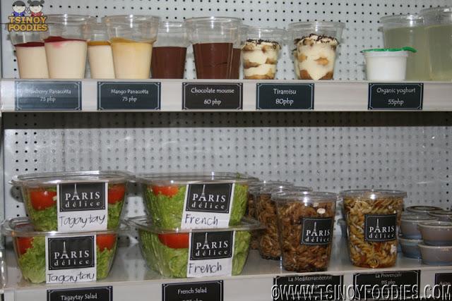 paris delice organic salad