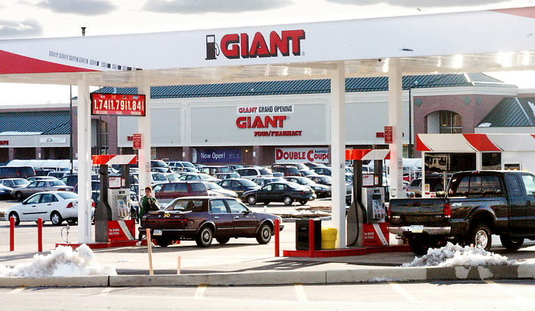 Giant Food Store Gas Stations