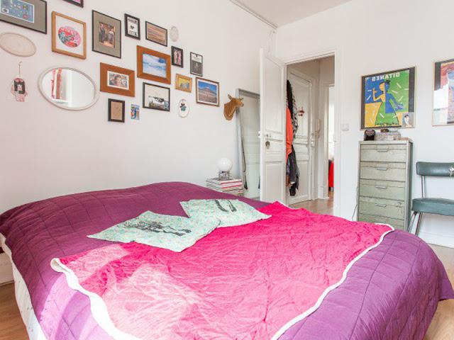 décoration chambre style bohème et vintage